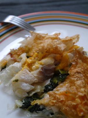 白身魚のフィロ〜パイカット