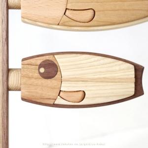 ササキ工芸_木製 鯉のぼり 和