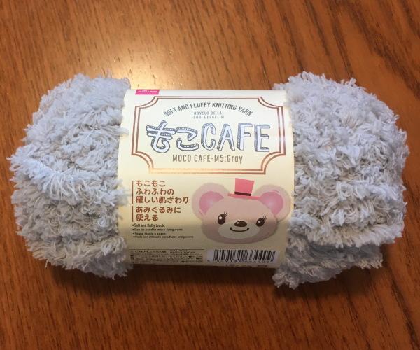 かぎ針編み簡単編み図もこカフェスヌード