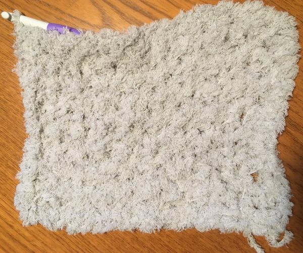かぎ針編み簡単編み図もこカフェスヌード2