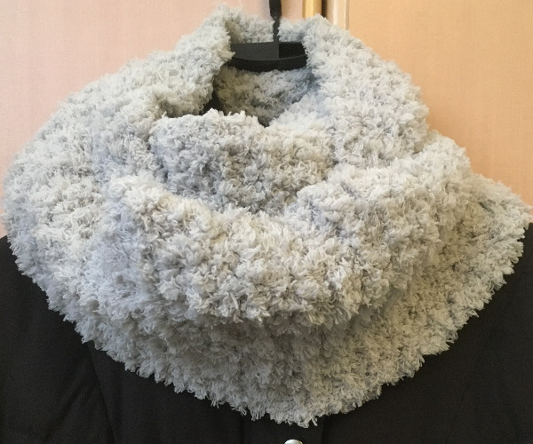 かぎ針編み簡単もこカフェスヌード3