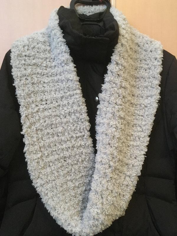 かぎ針編み簡単もこカフェスヌード2