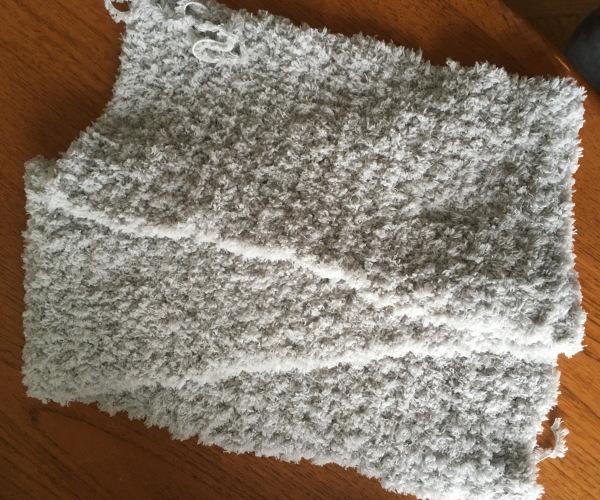 かぎ針編み簡単もこカフェスヌード1