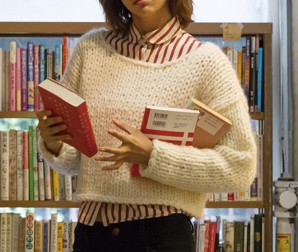 棒針編み無料編み図ローゲージセーター