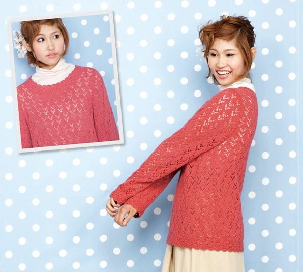 かぎ針編み無料編み図セーター毛糸ザッカストアーズ