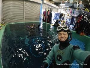 ダイビングインストラターコース,ダイビングプール (1)