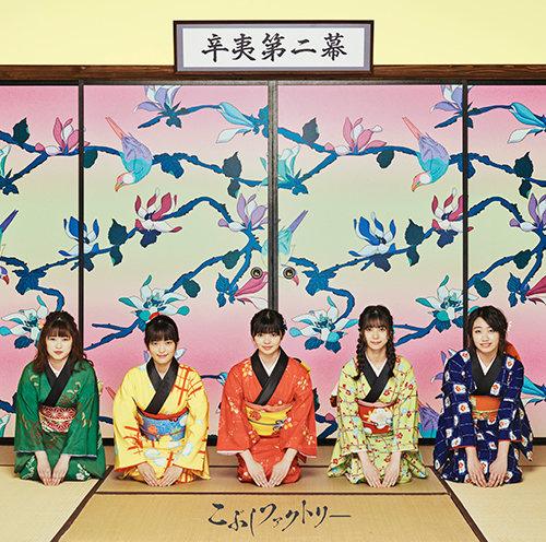 こぶしファクトリー2ndアルバム「辛夷第二幕」通常盤
