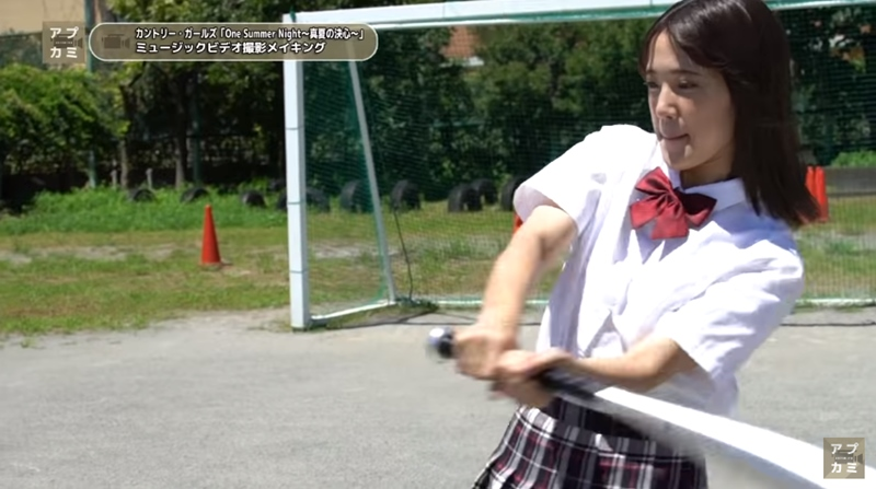 「One Summer Night~真夏の決心~」MVメイキング03
