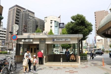 大阪メトロ・恵美須町駅