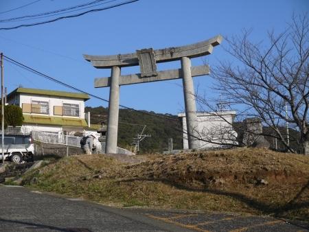 金比羅神社へ
