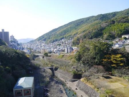 西山ダムからの眺め