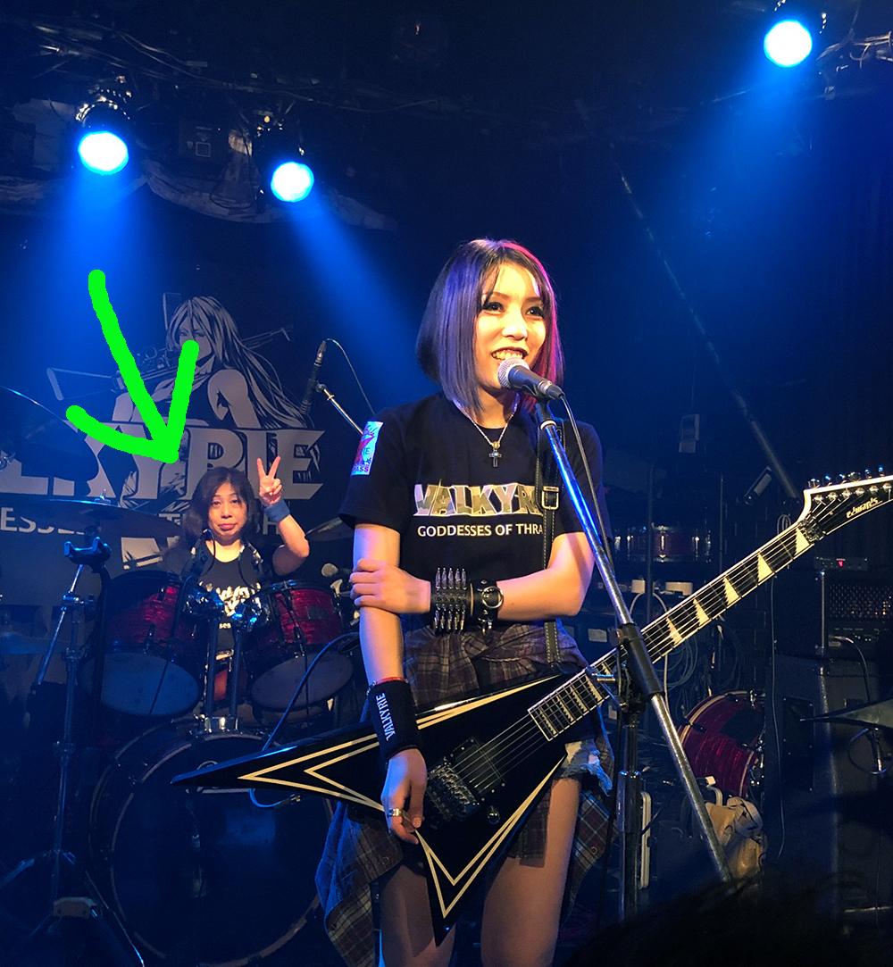 VALKYRIE(ヴァルキューレ)20191026(ドラムのしゅうちゃん&ぶん)