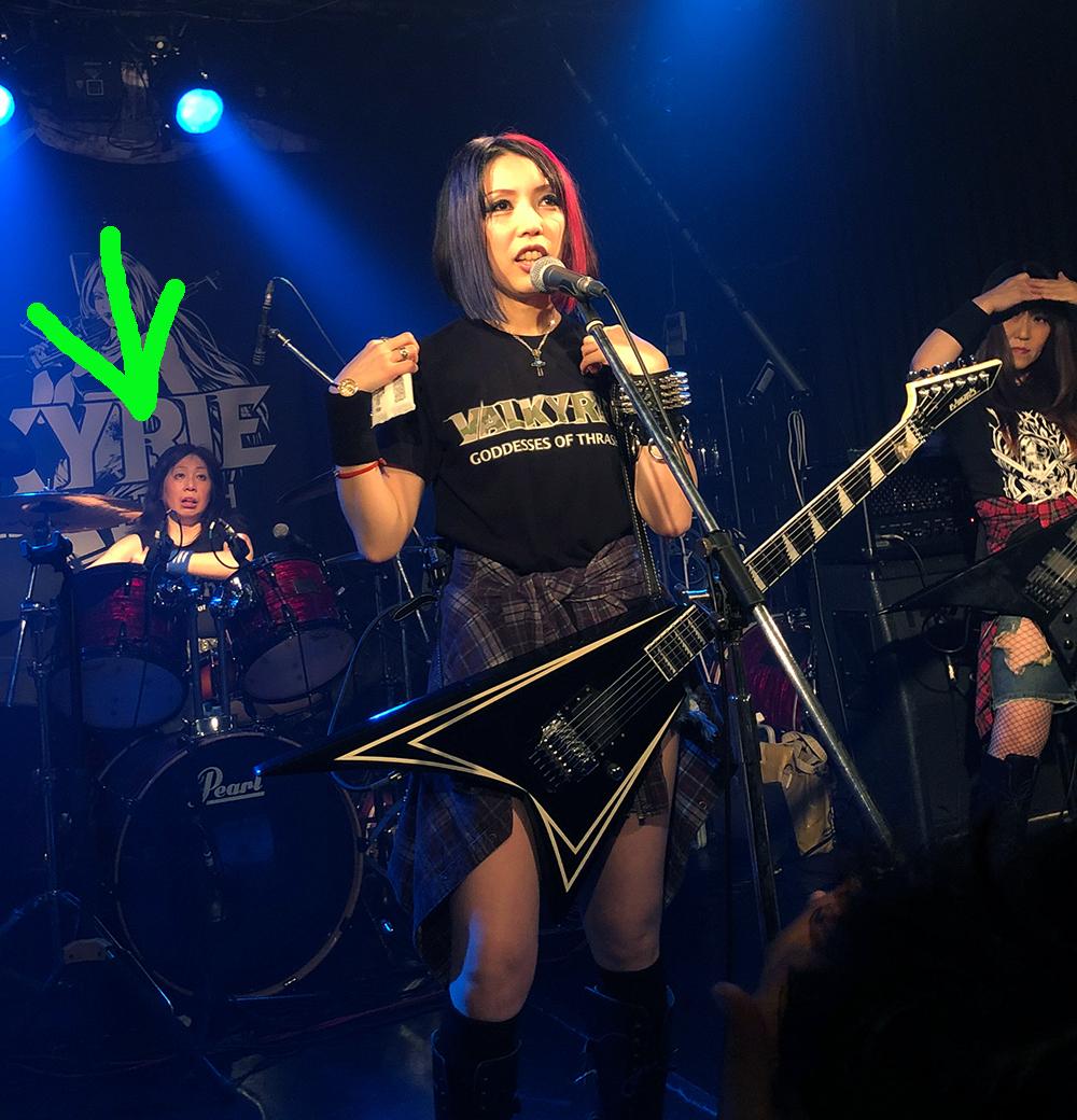 VALKYRIE(ヴァルキューレ)20191026(ドラムのしゅうちゃん&ぶん2)