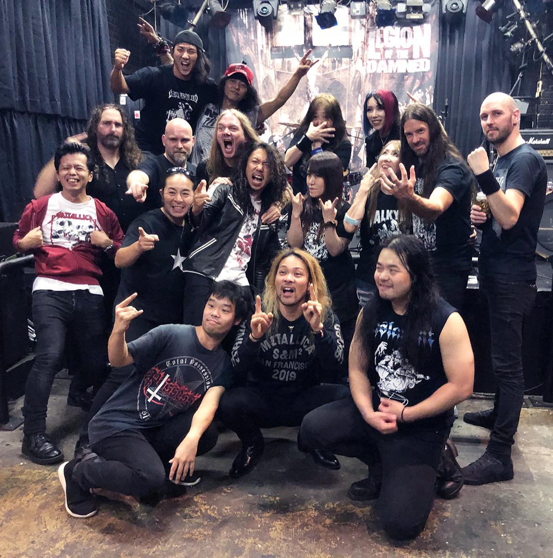 VALKYRIE(ヴァルキューレ)20191026-Legion-of-the-damned-japantourオープニングアクト(終演後03)