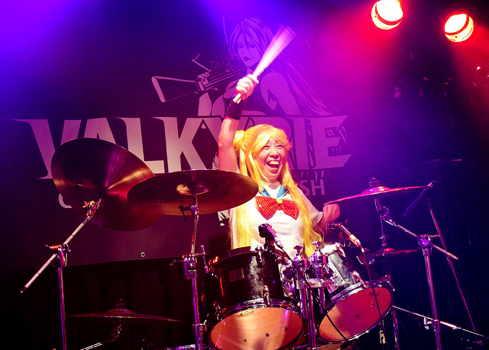 VALKYRIE(ヴァルキューレ)ドラムしゅうちゃん_Painkiller2019(天王寺Fireloop)セーラームーンのコスプレ