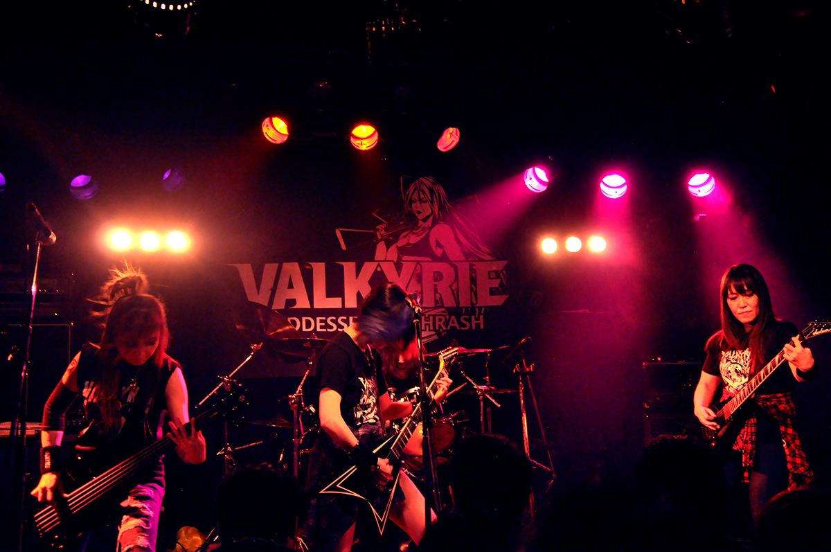 VALKYRIE(ヴァルキューレ)4人_Painkiller2019(天王寺Fireloop)