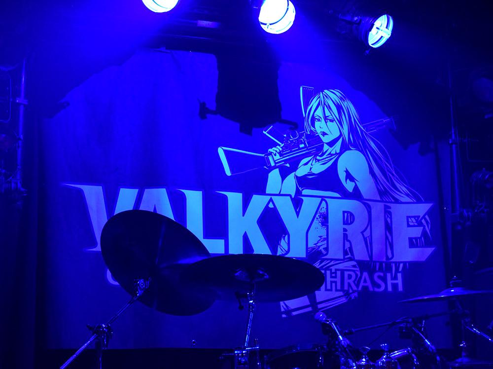 VALKYRIE(ヴァルキューレ)旗_Painkiller2019(天王寺Fireloop)熊井くまこ先生作