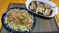 豚肉と玉ねぎのポン酢炒め タラの煮つけ 20191112