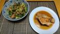 赤魚の煮つけ サバきゅうり味噌味 20191121