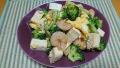 海老とブロッコリーの玉子炒め 20191201