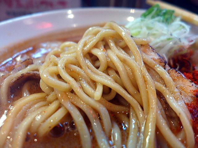 ひるドラ 鶴橋店@01辛口炙り肉ソバ『味噌』 3