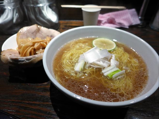宗家一条流 がんこラーメン十八代目@07天然真鯛スープのラーメン~大分産カボス秋のかほりをしなやかに添えて~ 1