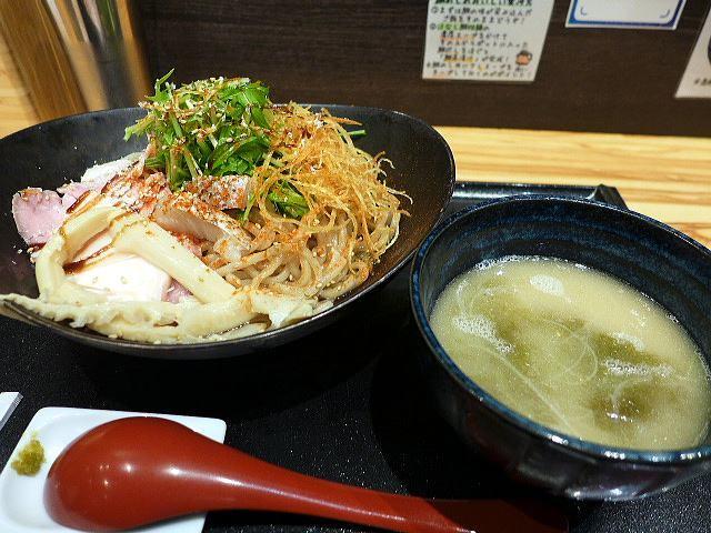 鯛担麺専門店 抱きしめ鯛@01鯛の昆布水つけ麺 1