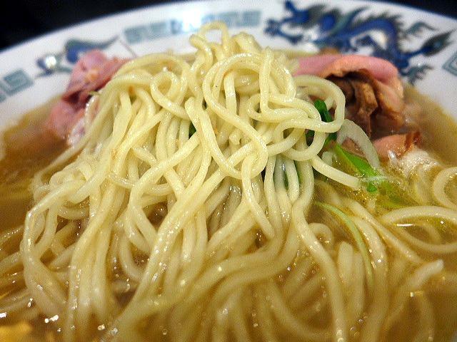 自己流ラーメン 綿麺@98丸鶏海老塩細麺 3