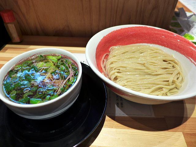 麺や 凛@02昆布水の醤油つけ麺(2玉) 1