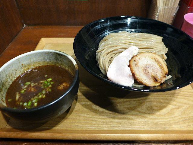 大東本店 麺や而今@06魚介鶏白湯つけ麺 1