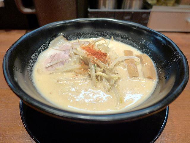 味噌麺処 豆醤@01濃厚味噌らーめん 1
