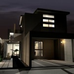 京都,滋賀,注文住宅,施工画像,一級建築士事務所,設計,モダン住宅,デザイナーズ住宅
