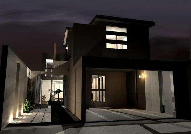 京都市,滋賀,注文住宅,モダン住宅,デザイナーズ住宅,一級建築士事務所