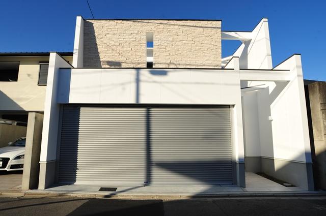 京都市北区紫竹のモダンな注文住宅 一級建築士事務所のこだわりの家づくり デザイナーズ住宅