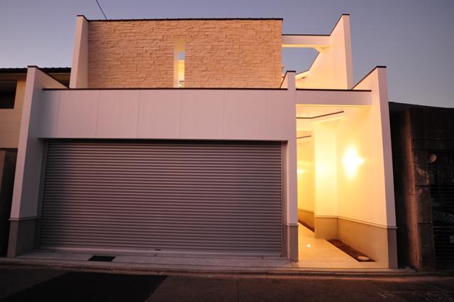 京都市北区紫竹のモダンな注文住宅 一級建築士事務所のこだわりの家づくり