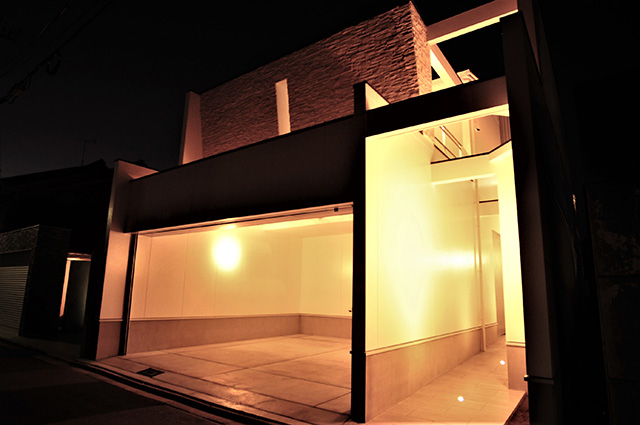 京都市北区紫竹のおしゃれでモダンな家,一級建築士事務所のデザイン,デザイナーズ住宅,モダン住宅,注文住宅