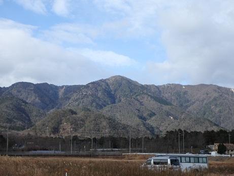 釈迦岳遠望