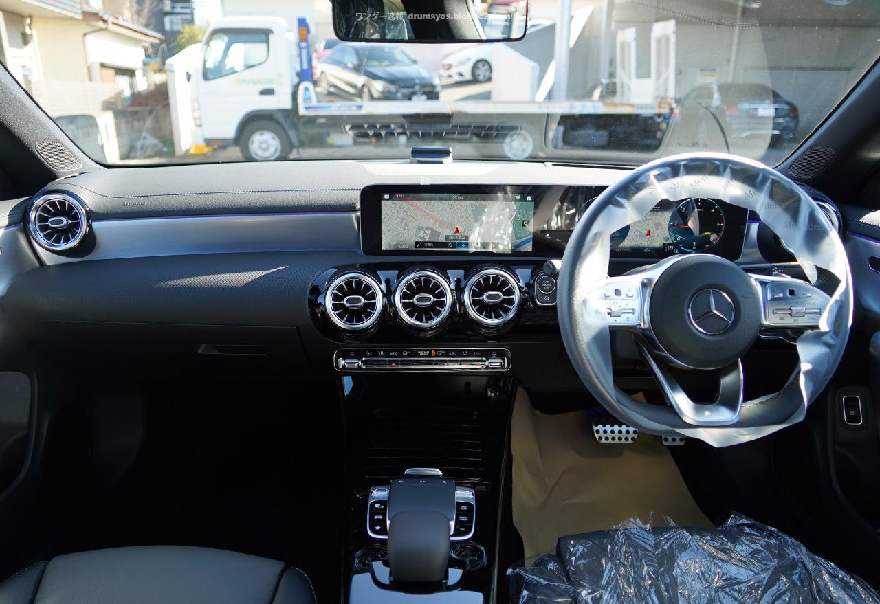 CLAシューティングブレーク納車09