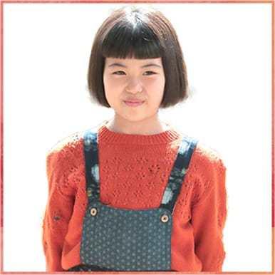 9歳の喜美子ちゃん