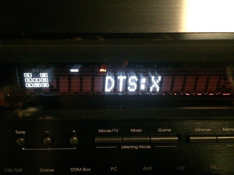 DTSXの表示