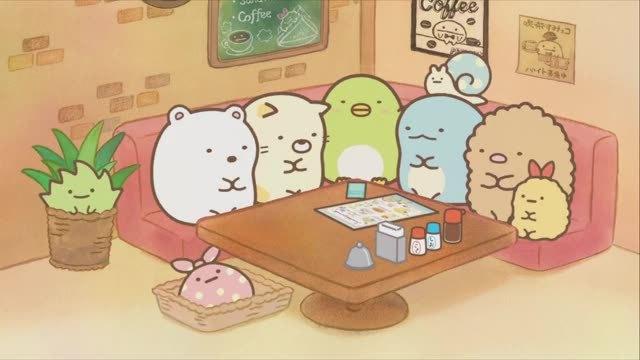 『すみっコぐらし』喫茶店?