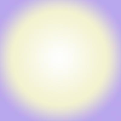 B♭の音の光のイメージ