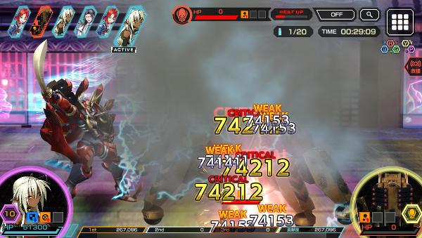 夫婦コンビ村正ハード戦闘02