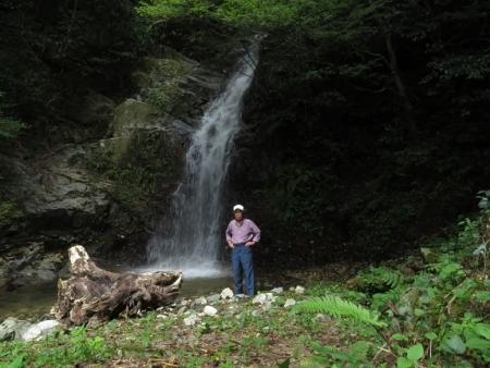 江里田の彼岸花と滝 2019-09-26 072
