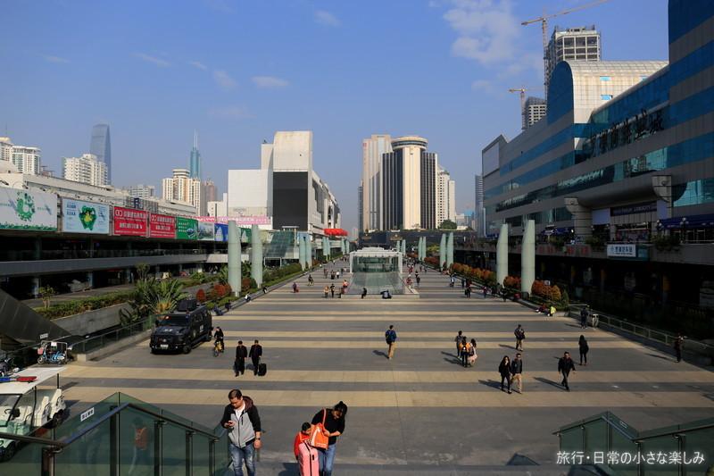 香港から中国 MTR
