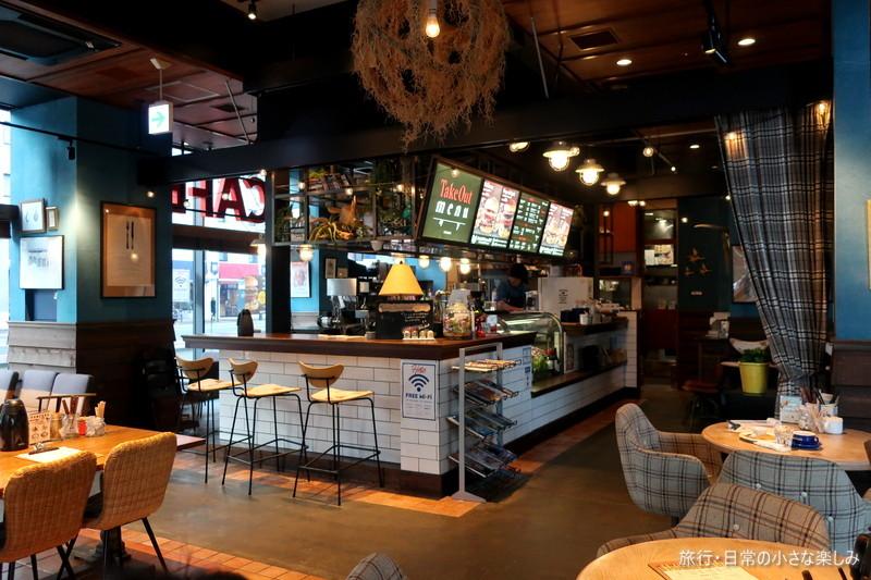 肉が旨いカフェ NICK STOCK 極太ホットドック(渡辺通店)