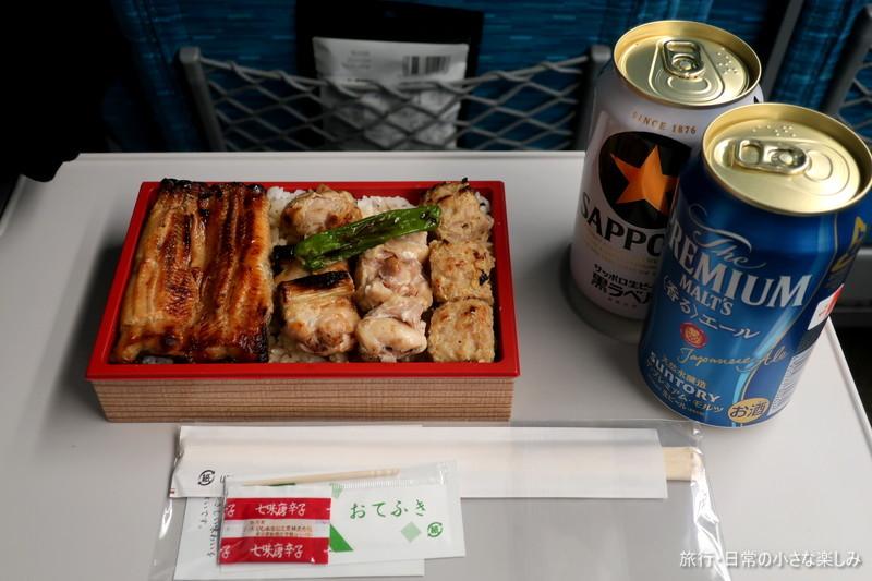 鰻と鶏弁当 鳥徳