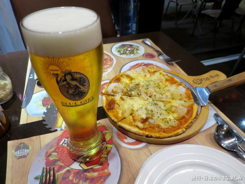 尖東 香港 クリスマス イルミネーション きれい ビール