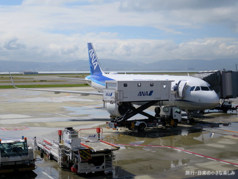 NH977 機内食 A320neo