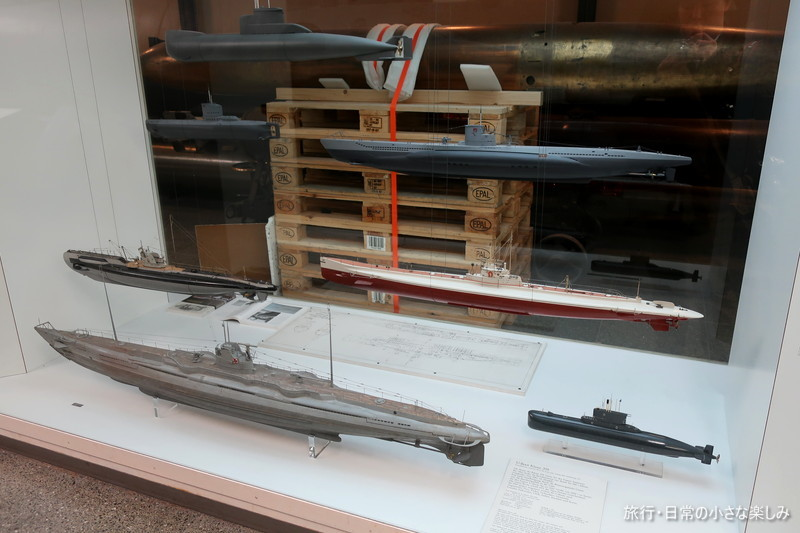 ミュンヘン・ドイツ博物館 潜水艦